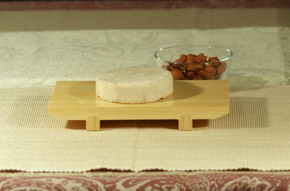 Almond based cheese