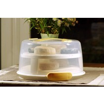 Large cheese aging container