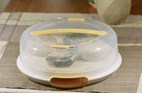 Medium cheese aging container