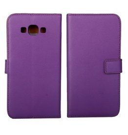 Bookwallet hoes Samsung Galaxy A8 paars