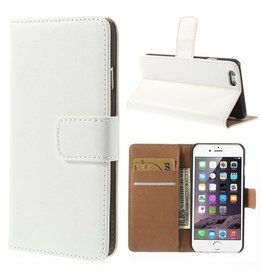 Bookwallet hoes iPhone 6(s) wit