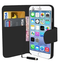Bookwallet hoes iPhone 6(s) Plus zwart