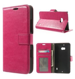 Bookwallet hoes Microsoft Lumia 930 roze