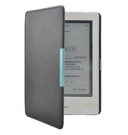 """Lunso Lunso - sleepcover flip hoes - Kobo Touch 1 (6"""") - Zwart"""