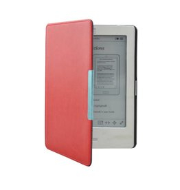 """Lunso Lunso - sleepcover flip hoes - Kobo Touch 1 (6"""") - Rood"""