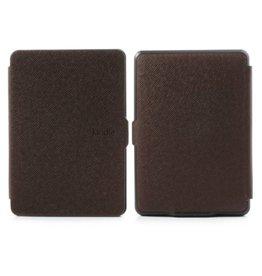 Smart magnetische flip hoes Kindle Paperwhite bruin