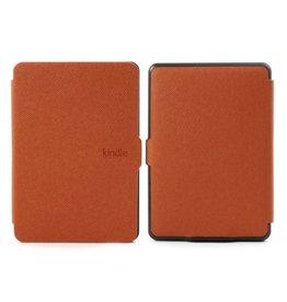 Sleepcover flip grid hoes Kindle Paperwhite oranje