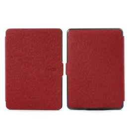 Smart magnetische flip hoes Kindle Paperwhite rood