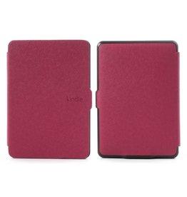Sleepcover flip grid hoes Kindle Paperwhite 1 / 2 / 3 roze