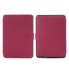 Sleepcover flip grid hoes Kindle Paperwhite roze