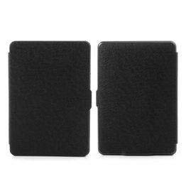 Sleepcover flip grid hoes Kindle Paperwhite 1 / 2 / 3 zwart