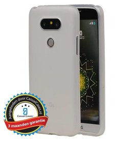 Softcase hoes LG G5 wit
