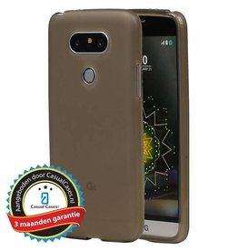 Softcase hoes LG G5 grijs