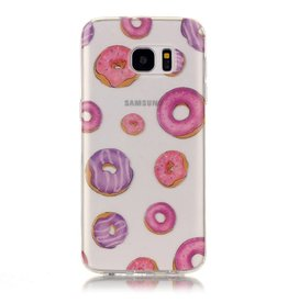 Softcase hoes donuts Samsung Galaxy S7 Edge