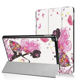 3-Vouw fee stand flip hoes iPad 9.7 inch (2017)