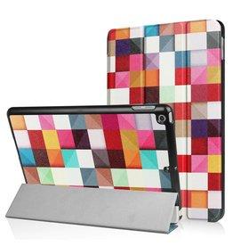 3-Vouw blokken stand flip hoes iPad 9.7 inch (2017)