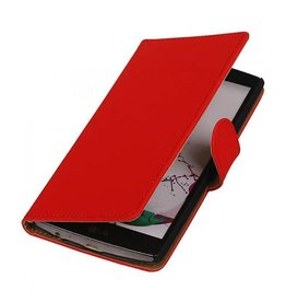 Bookwallet hoes LG G4 rood