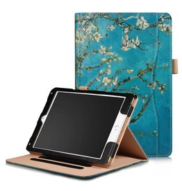 Stand flip amandelboom hoes iPad 9.7 (2017/2018) / Air / Air 2