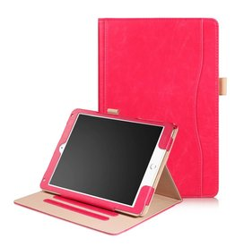 Luxe stand flip hoes iPad 9.7 inch (2017) / Air / Air 2 roze