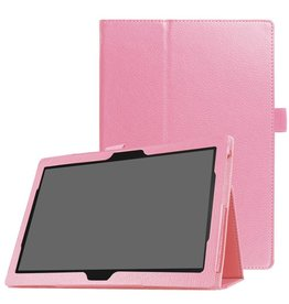 Stand flip hoes Lenovo Tab 4 10 Plus / Tab 4 10 lichtroze