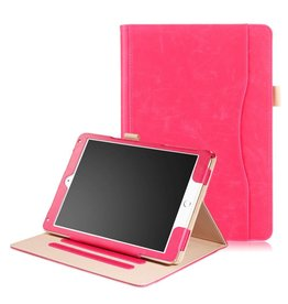 Luxe stand flip hoes iPad Pro 10.5 inch roze