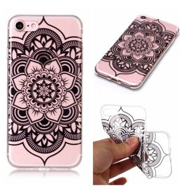 Softcase henna lotus hoes iPhone 7 / 8