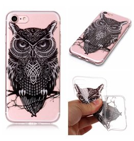 Softcase uil hoes iPhone 7 / 8