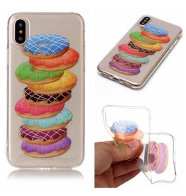 Softcase donuts hoes iPhone X / XS