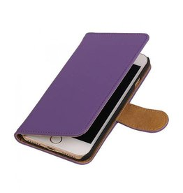 Bookwallet hoes iPhone 7 / 8 paars