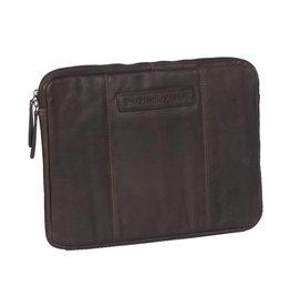 Chesterfield Chesterfield Richard lederen laptop sleeve hoes 13.3 inch bruin