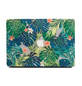 Lunso Lunso - cover hoes - MacBook Air 13 inch - Tropical leaves