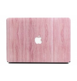 Lunso Lunso - cover hoes - MacBook Air 13 inch - houtlook roze