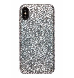 Lunso Lunso - ultra dunne backcover hoes - iPhone X / XS - stingray zwart