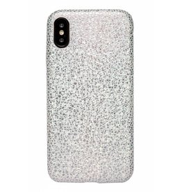 Lunso Lunso - ultra dunne backcover hoes - iPhone X - stingray wit