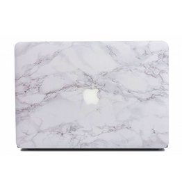 Lunso Lunso - cover hoes - MacBook Pro 13 inch (2016-2018) - Marble Cosette