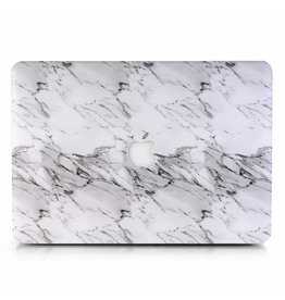 Lunso Lunso - cover hoes - MacBook Pro 13 inch (2016-2018) - Marble Etta