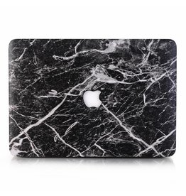 Lunso Lunso - cover hoes - MacBook Pro 13 inch (2016-2018) - Marble Cosmos