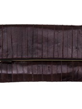 Adele Clutch dark brown