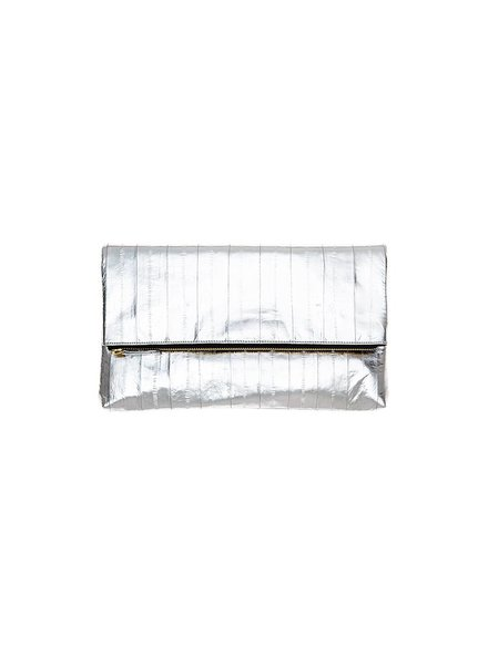 Adele Clutch Silver