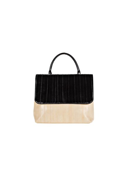 Mimi Messenger Bag creme/black