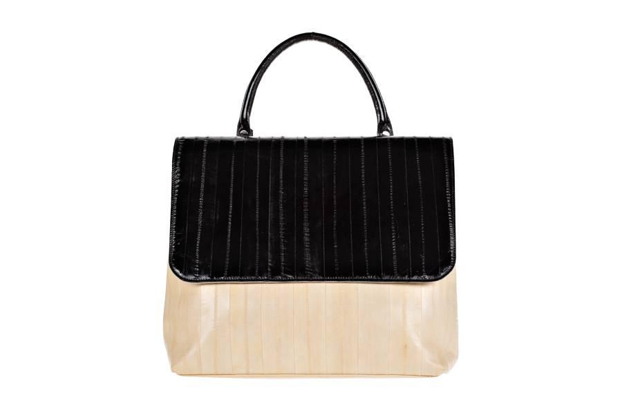 Mimi Messenger bag creme/black
