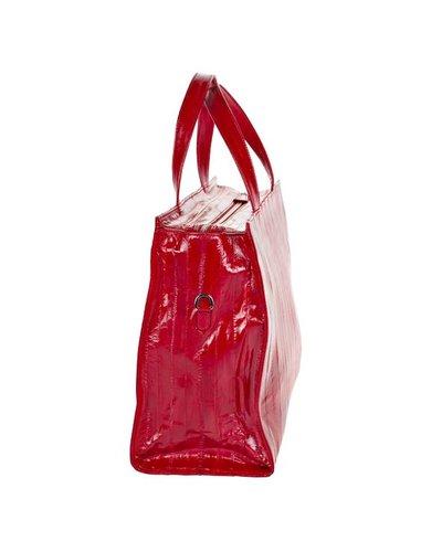 Violetta Business Tote red