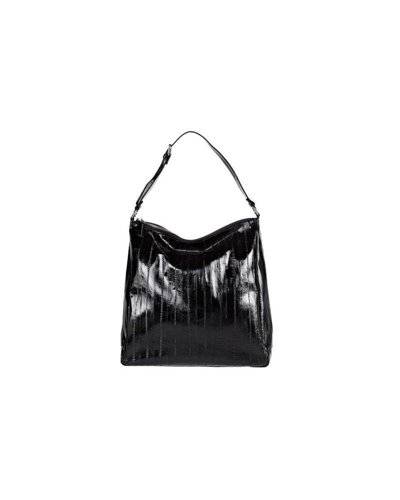 Cleopatra Handtasche mit silbernem Reissverschluss