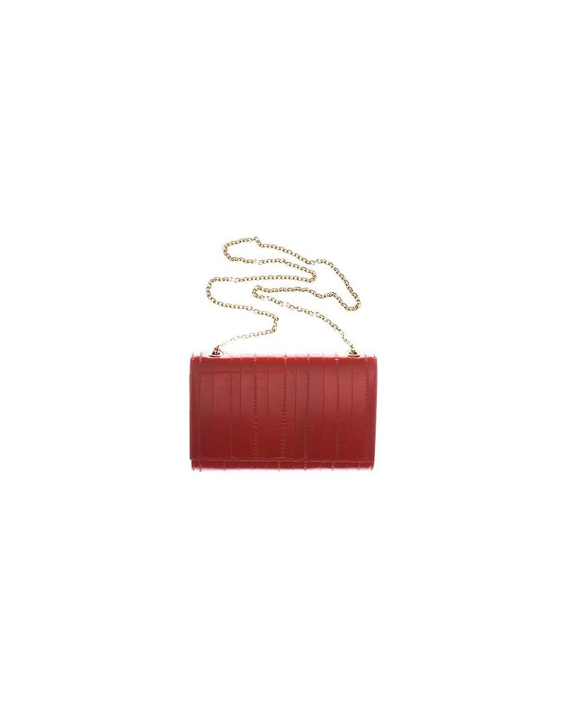 Musetta Chainclutch Red