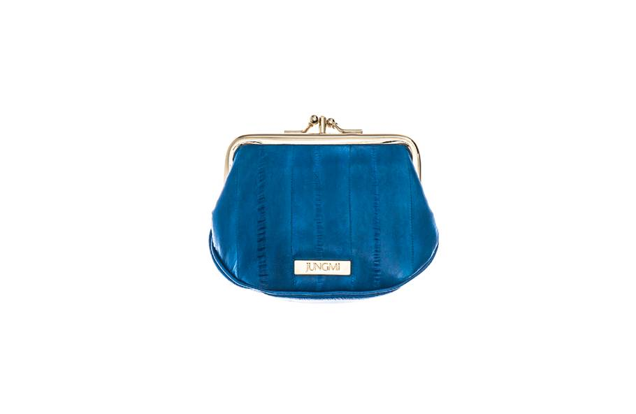 Despina Geldbörse, Mini Pouch blau