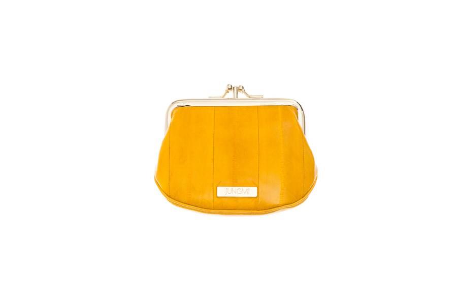 Despina Mini Pouch lemon yellow