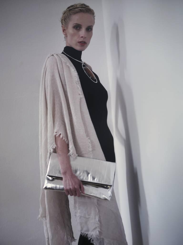 Adele Clutch silver