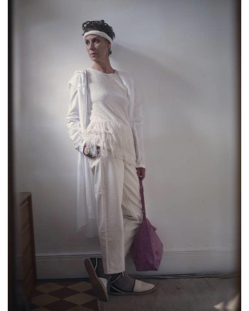 Cleopatra Handtasche lilac mit silbernem Reissverschluss