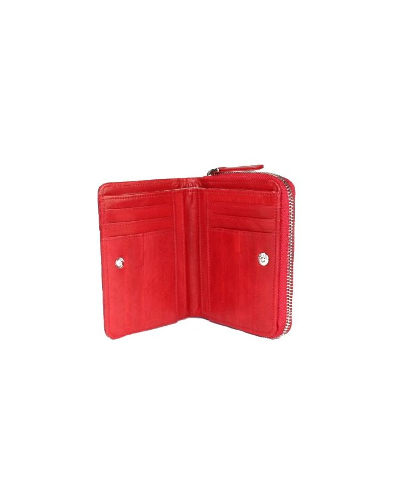Pamina wallet medium red