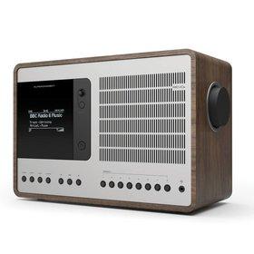 Revo Audio SuperConnect - DAB+ - internet radio en Spotify - Walnoot/Zilver